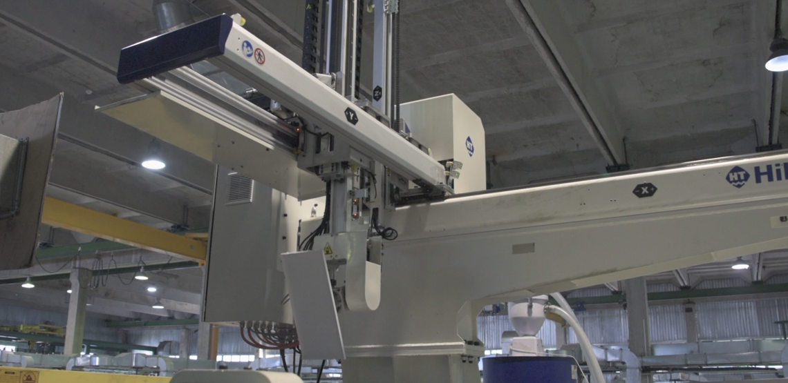 HILECTRO ROBOT: robot-assisted production is here