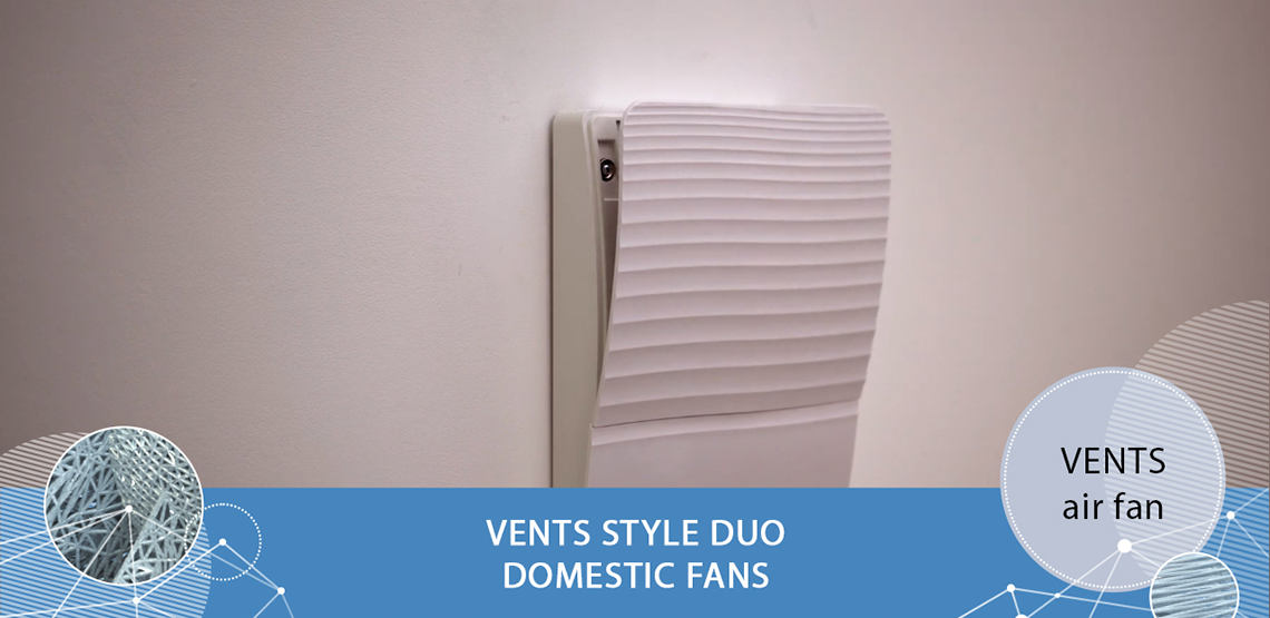 VENTS Style Duo domestic fans