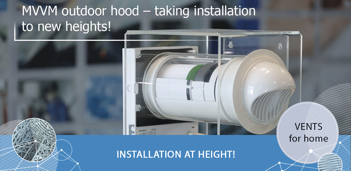 How to install VENTS MVVM ventilation hood